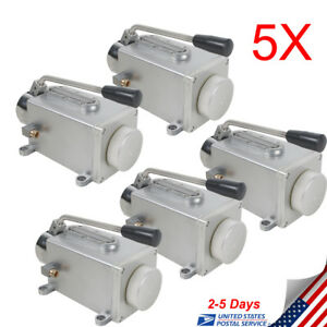 5pcs Manual Lubrication Oil Pump Hand Operate Lubricator For Grinding Machine Ce