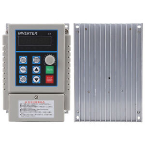 220v 0 75kw Variable Frequency Drive Vfd Speed Control Inverter Single Phrase Gd