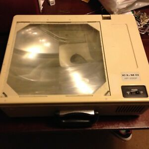 Elmo Hp 285p Fold Up Briefcase Style Portable Overhead Projector