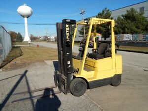 2002 2004 Hyster 5000 Pound Lpg propane Forklifts we Will Ship Budget Lifts