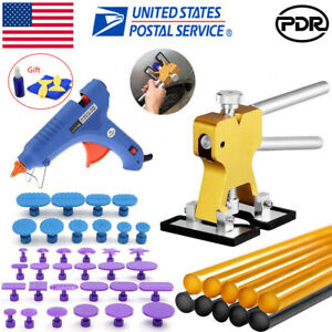 paintless Dent Repair Dent Puller Pdr tools Kit Metal Dent Lifter Dent Removal