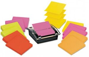 Post it Pop up Notes Super Sticky Pop up Dispenser Value Pack 3 X 3