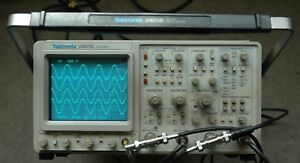 Tektronix 2465b 400 Mhz Oscilloscope Calibrated Sn b055739 30day Warranty