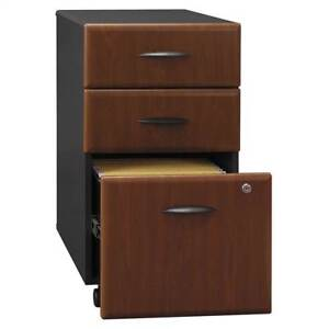 Fully Assembled 3 Drawer File Cabinet In Hanson Cherry id 2539
