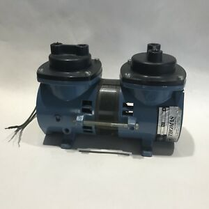 Thomas Industries 115v 60hz Air Compressor 21070a14 18 570