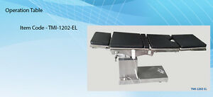 El C arm Compatible Semi electric Ot Table Up And Down By Cable Remote