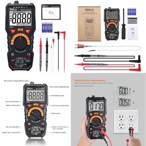 Auto Ranging Digital Multimeter Fluke Volt Test Meter Electric Detector Voltage