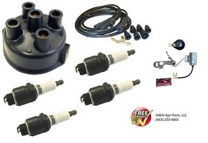 Ignition Tune Up Kit Ferguson To20 To30 To35 F40 Mh50 Tractor 4 Cylinder Cont