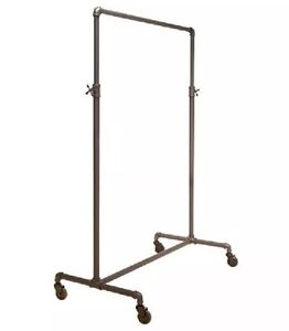 Garment Racks Pipe Series Commercial Quality Adjustable 2 way Ballet Style Rack