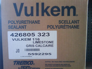 Vulkem 116 Polyurethane Sealant Case Of 30 10 Oz Tubes