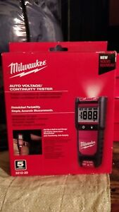 2212 20 Milwaukee Auto Voltage continuity Tester