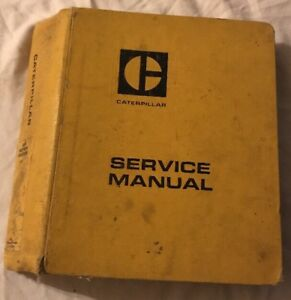 Cat Caterpillar 12g Motor Grader Service Manual 61m Tractor
