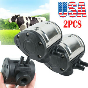 2 set L80 Pneumatic Pulsator For Cow Milker Milking Machine Dairy Farm Milker Ce