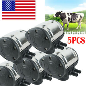 5 L80 Pneumatic Pulsator For Cow Milker Milking Machine Dairy Farm Fast