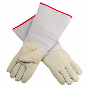 17 72 waterproof Long Cryogenic Gloves Ln2 Protective Gloves Nitrogen Us Stock