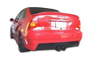 00 04 Ford Focus 4dr Pro Dtm Overstock Rear Body Kit Bumper 100032