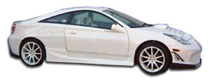 00 05 Toyota Celica Bomber Duraflex Side Skirts Body Kit 100173