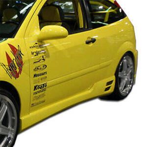 00 07 Ford Focus Hb Evo 3 Duraflex Side Skirts Body Kit 100051