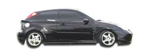 00 07 Ford Focus Hb Q Flared Overstock Side Skirts Body Kit 100341