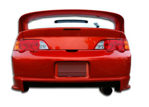 02 04 Acura Rsx Gt300 Duraflex Rear Wide Body Kit Bumper 102252
