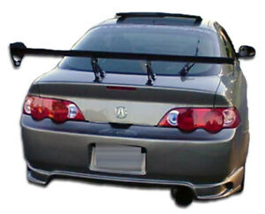 02 04 Acura Rsx I Spec Duraflex Rear Body Kit Bumper 100307