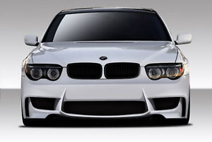 02 05 Bmw 7 Series 1m Look Duraflex Front Body Kit Bumper 109307