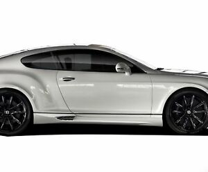 03 10 Bentley Continental Af 1 Aero Function Gfk Side Skirts Body Kit 109358