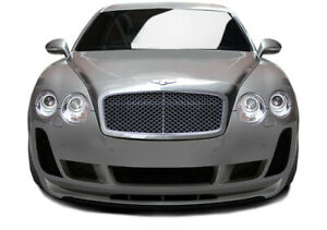 03 10 Bentley Continental Af 2 Aero Function Front Body Kit Bumper 113187