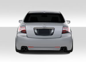 04 08 Acura Tl K 1 Duraflex Rear Body Kit Bumper 103523