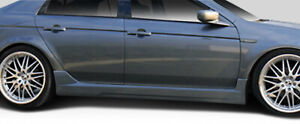 04 08 Acura Tl K 1 Duraflex Side Skirts Body Kit 103522