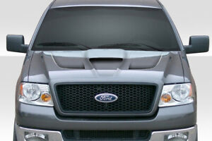 04 08 Ford F150 Shark Duraflex Body Kit Hood 113339