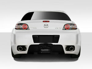 04 08 Mazda Rx8 K 1 Duraflex Rear Body Kit Bumper 109488