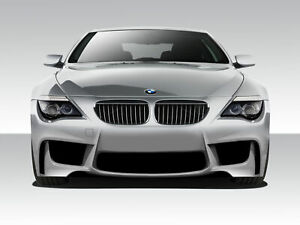 04 10 Bmw 6 Series 1m Look Duraflex Front Body Kit Bumper 109303