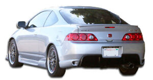 05 06 Acura Rsx I Spec 2 Duraflex Rear Body Kit Bumper 104608