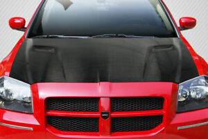 05 07 Dodge Magnum Challenger Look Dritech Carbon Fiber Body Kit Hood 113000