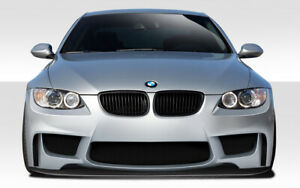 07 10 Bmw 3 Series 1m Look Duraflex Front Bumper Splitter Body Kit 109551