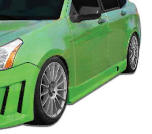 08 11 Ford Focus 4dr Piranha Duraflex Side Skirts Body Kit 106426