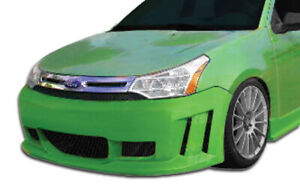 08 11 Ford Focus Piranha Duraflex Front Body Kit Bumper 106425