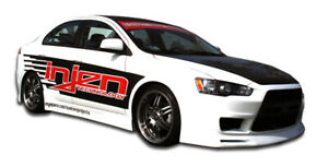 08 17 Mitsubishi Lancer Gt Concept Duraflex Side Skirts Body Kit 103943