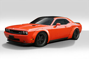08 18 Dodge Challenger Novara Duraflex Full Wide Body Kit 112481