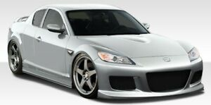 09 11 Mazda Rx8 M 1 Speed Duraflex Full Body Kit 108513