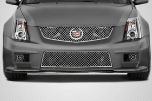 09 13 Cadillac Cts V G2 Carbon Creations Front Bumper Lip Body Kit 112990