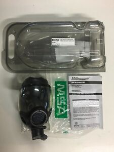 Msa Millennium Cbrn Gas Mask Large New Open Box Never Used Or Worn