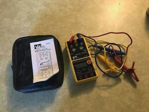 Ideal 61 521 3 Phase motor Rotation Tester Case And Instructions