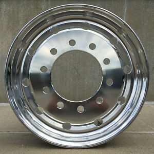 Accuride 41012sp 22 5 X 9 Hub Pilot Flat Face Steer Only Wheel For 315 80r22 5