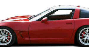 84 96 Chevy Corvette C5 Conversion Duraflex 6 Pcs Side Skirts Body Kit 103442