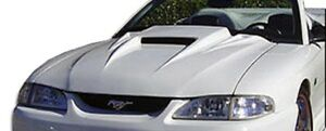 94 98 Ford Mustang Spyder 3 Duraflex Body Kit Hood 101423