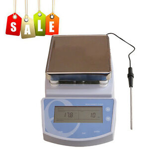 Heating Hot Plate Hotplate Magnetic Stirring Stirrer Mixer Heater Temperature