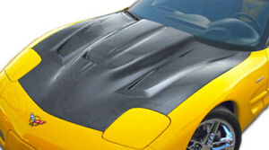 97 04 Chevrolet Corvette Zr Edition 2 Carbon Fiber Body Kit Hood 106140