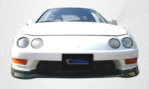 98 01 Acura Integra Type R Carbon Fiber Front Bumper Lip Body Kit 102746
